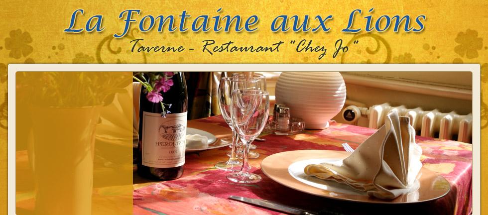 La taverne tintigny 6730 for La fontaine aux cuisines